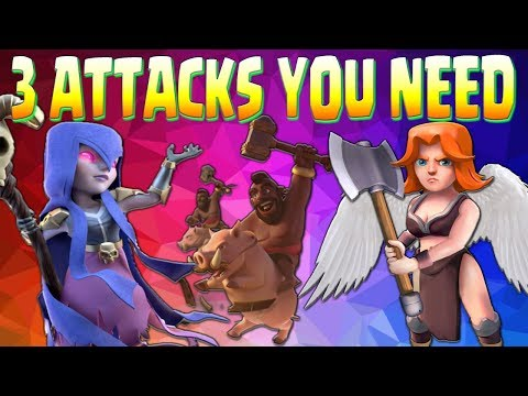 NEW TH10 3 BEST ATTACKS For WAR! | 3 Star GUIDE | Clash of Clans