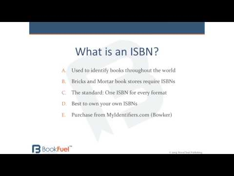A quick explanation of an ISBN