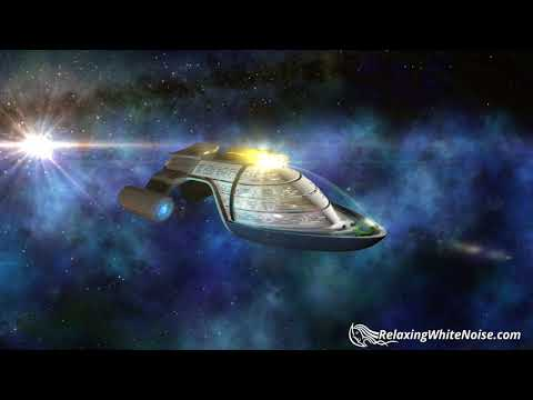 Starliner Cruise White Noise | Sleep, Study, Focus | 10 Hours Spaceship Sounds