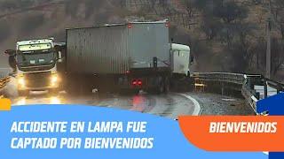 Impactante accidente en Lampa fue captado por Bienvenidos | Bienvenidos