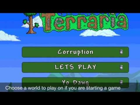 Terraria Mobile Ios and Android Multiplayer!