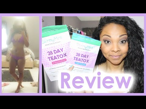 SkinnyMint Teatox Review/Results