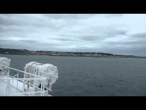 Condor Liberation Ferry Poole   England to St Helier Jersey Part 2  October 2015