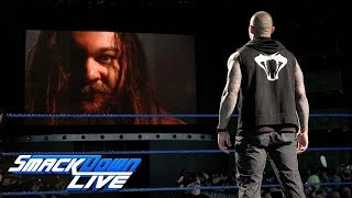 Bray Wyatt baptizes himself in the ashes of Sister Abigail: SmackDown LIVE, March 14, 2017
