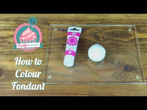How to Colour Fondant Using ProGel