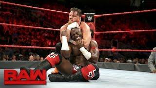 Apollo Crews vs. Curt Hawkins: Raw, Sept. 18, 2017
