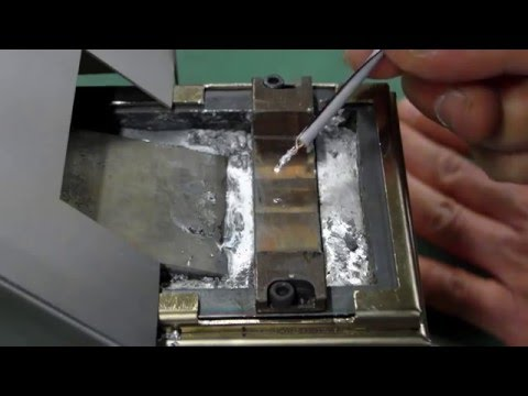 No Flux Soldering Copper wire with Aluminum wire by Ultrasonic Soldering Machine