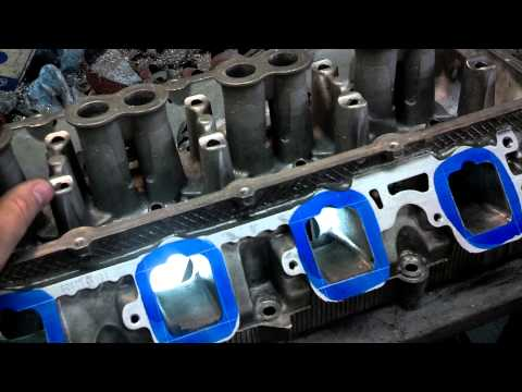 How to gasket match cylinder heads and intake manifolds the right way