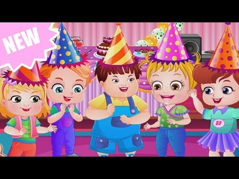 Baby Hazel Game Movie - Baby Birthday Party - Dora the Explorer [HD 1080P]