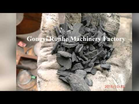 how to make coconut shell charcoal