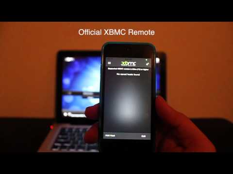 Use iOS Device or Android as XBMC Remote