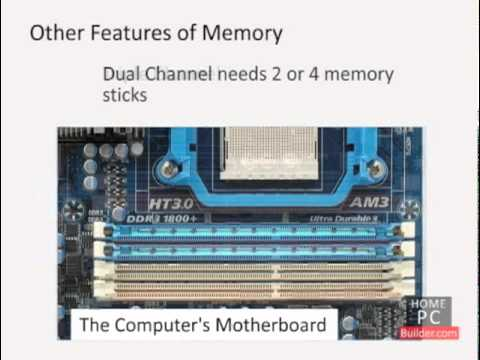 Lesson 02 - Install a RAM memory upgrade into any desktop or laptop computer