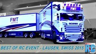 BEST OF RC TRUCK MEGA EVENT - LAUSEN, SWITZERLAND 2015-EXCAVTORS,WHELL LOADERS,FORK LIFT
