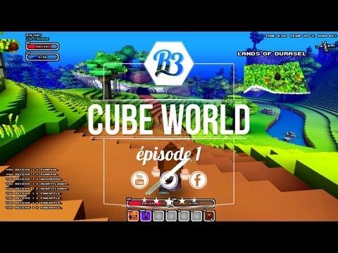 Cube World [ep1 - Français] - Premier pas ! - R3li3nt