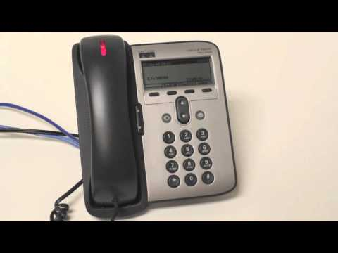 Cisco 7912 How to check your voicemail