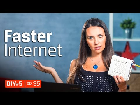 How to Speed Up Your PC – Increase Internet Speed 💻 DIY in 5 Ep 35