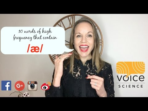 Australian Accent! Nail the /æ/ vowel in 2 minutes!