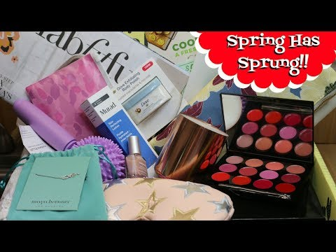 Everything You Need for Spring ~  FabFitFun Un-boxing ~  $400 Retail Value ~ Noreen's Kitchen