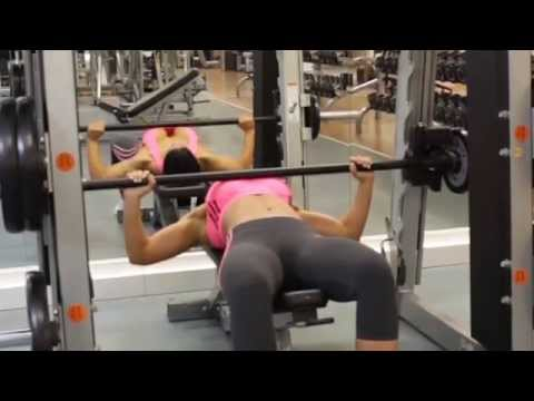 Smith Machine Bench Press - Chest Exercise