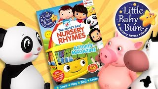 Little Baby Bum Magazine! Lots Of Activities! | Nursery Rhyme Friends