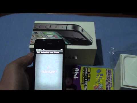 iPhone 4S Activation using Globe Prepaid [tribalengel]