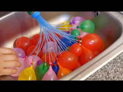 How to refill and reuse bunch 0 balloons