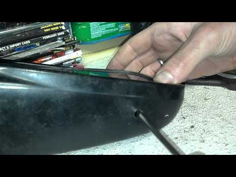 88-91 honda civic side view mirror replacement