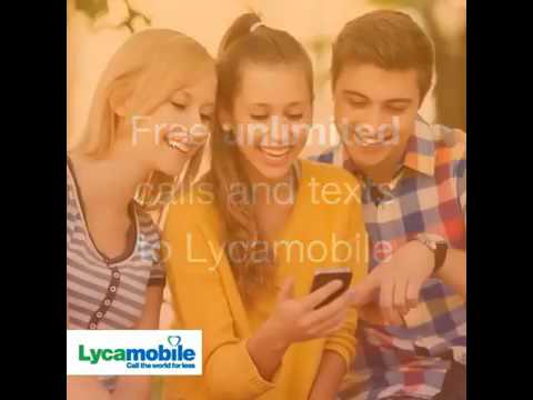 Lycamobile  FREE Lyca to Lyca Calls