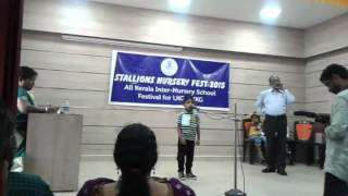 India is my country.....speech by 5 year old sanjay...