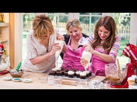 Home & Family - Georgetown Cupcake's Irish Cream Chocolate Cupcake recipe