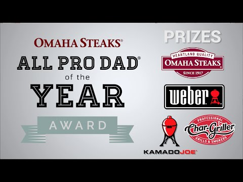 Omaha Steaks All Pro Dad of the Year: #Ad4Dad