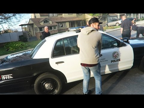 STEALING A POLICE CAR