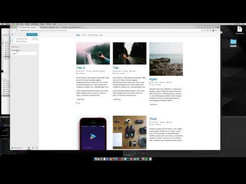 Demo: Blog Grid for StrapPress