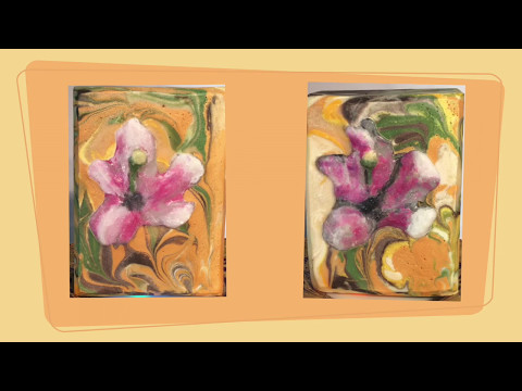 Making Lemon Lily Cold Process Art Soap