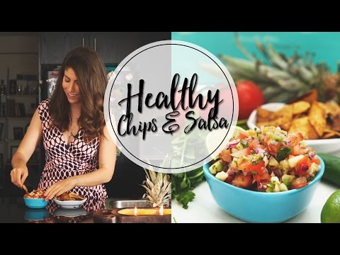 HOW TO MAKE HEALTHY CHIPS AND SALSA