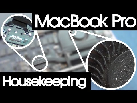 MacBook Pro Retina A1502 EMC 2678 Thermal Paste Change and Fan Cleaning