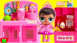 Best Learning Kids Kitchen Video L.O.L. Dolls and Shopkins Season 8 World Vacation