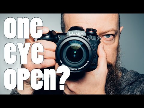Do You Shoot Photos With One Eye Open? Both Open? (or Both Closed? 😜)