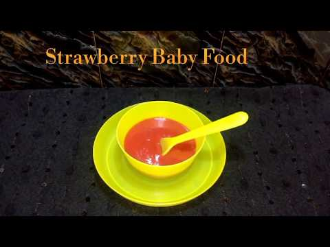 Strawberry  for Babies | How to cook Strawberry for Babies | Strawberry Baby Food