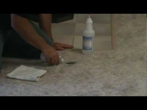 How to remove Make up from carpet