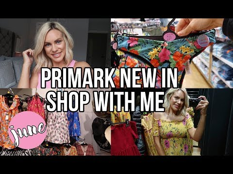 WHAT'S NEW IN PRIMARK, SHOP WITH ME AND TRY ON HAUL JUNE 2018