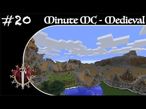 Minute Minecraft - Time Lapse - Medieval Village - Ep.20