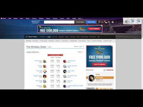 Yahoo! Fantasy Football: How To Change Team Name & Logo