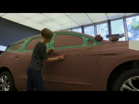 Designers Mold Tomorrow's Cars in Clay
