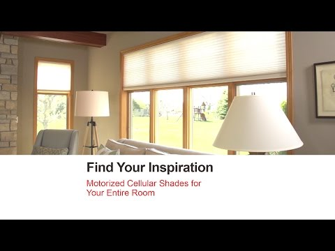 Bali Blinds | Motorized Cellular Shades for Your Entire Room