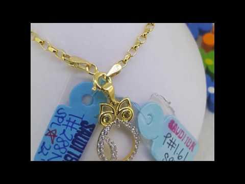 Ladies Necklace (18k Saudi Gold)