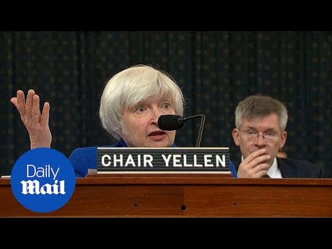 Janet Yellen speaks on unemployment rate and concerns over US debt - Daily Mail