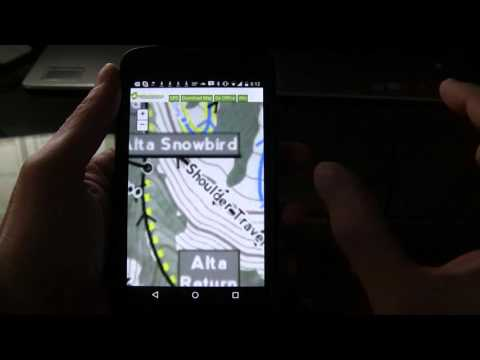 Offline Mobile ArcGIS App for Skiers