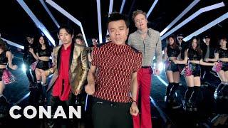 Download J.Y. Park ″Fire″ feat. Conan O'Brien & Steven Yeun & Jimin Park Official M/V Video