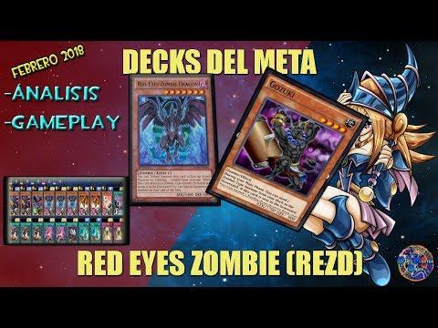 DECKS DEL META - RED EYES ZOMBIE (REZD) - YUGIOH DUEL LINKS ESPAÑOL